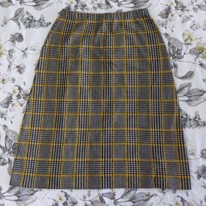 Dresses & Skirts - Glen Check plaid pencil skirt